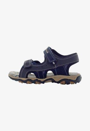 Chodecké sandály - navy blue