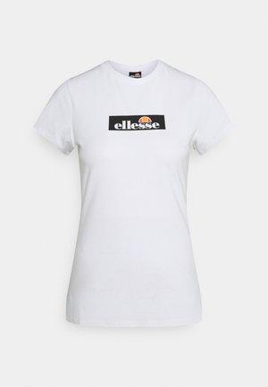 OMBRA - T-shirts print - white