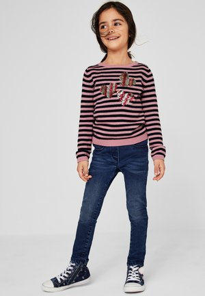 Jumper - light pink stripes
