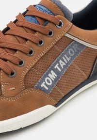 TOM TAILOR - Trainers - cognac - 5