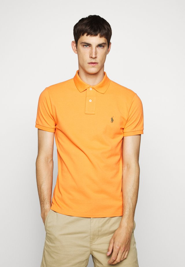 SLIM FIT MODEL - Polo shirt - southern orange