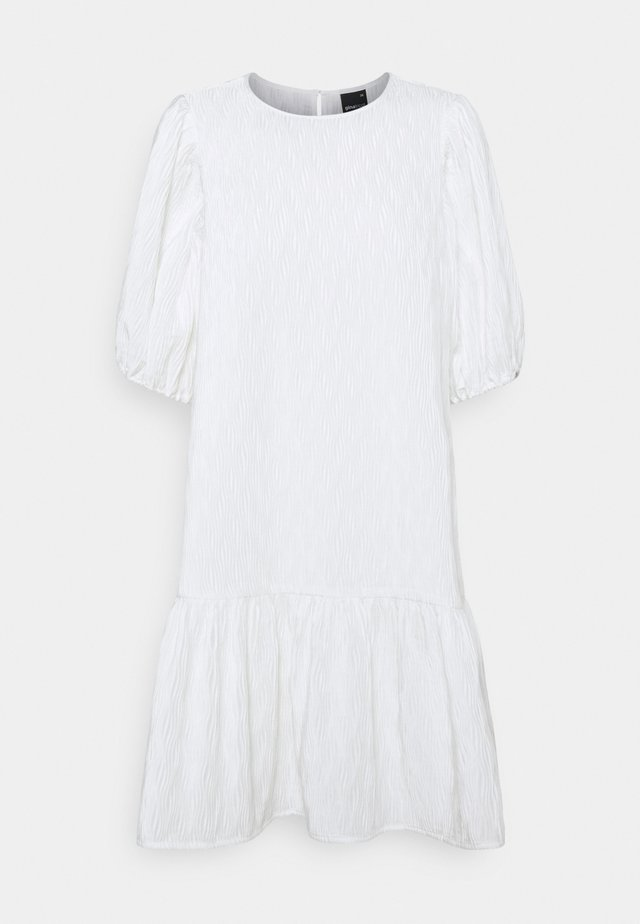 LOVA DRESS - Korte jurk - offwhite