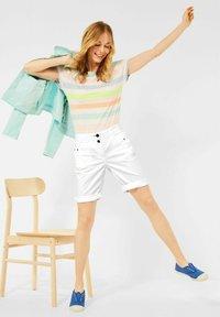 Cecil - Denim shorts - weiß - 0