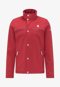 Outdoorová bunda - red