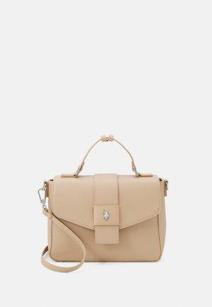JONES FLAP HANDLE BAG - Handbag - beige