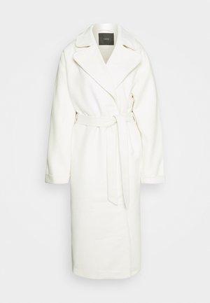 YASSARMALA ICON - Klasický kabát - eggnog/melange