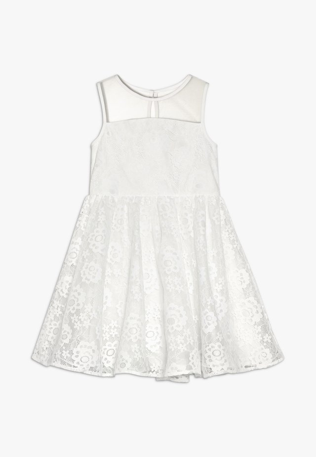 HATTIE DRESS - Juhlamekko - white