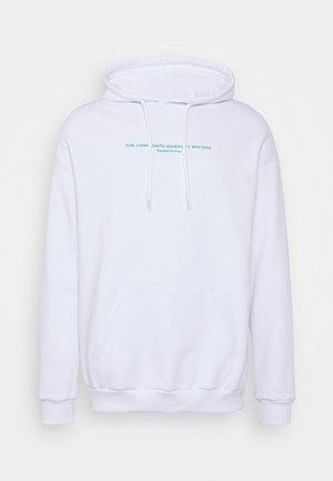 UNISEX - Hoodie - white