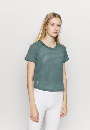 ONPOMELIA TRAINING TEE - T-shirt sportiva - goblin blue