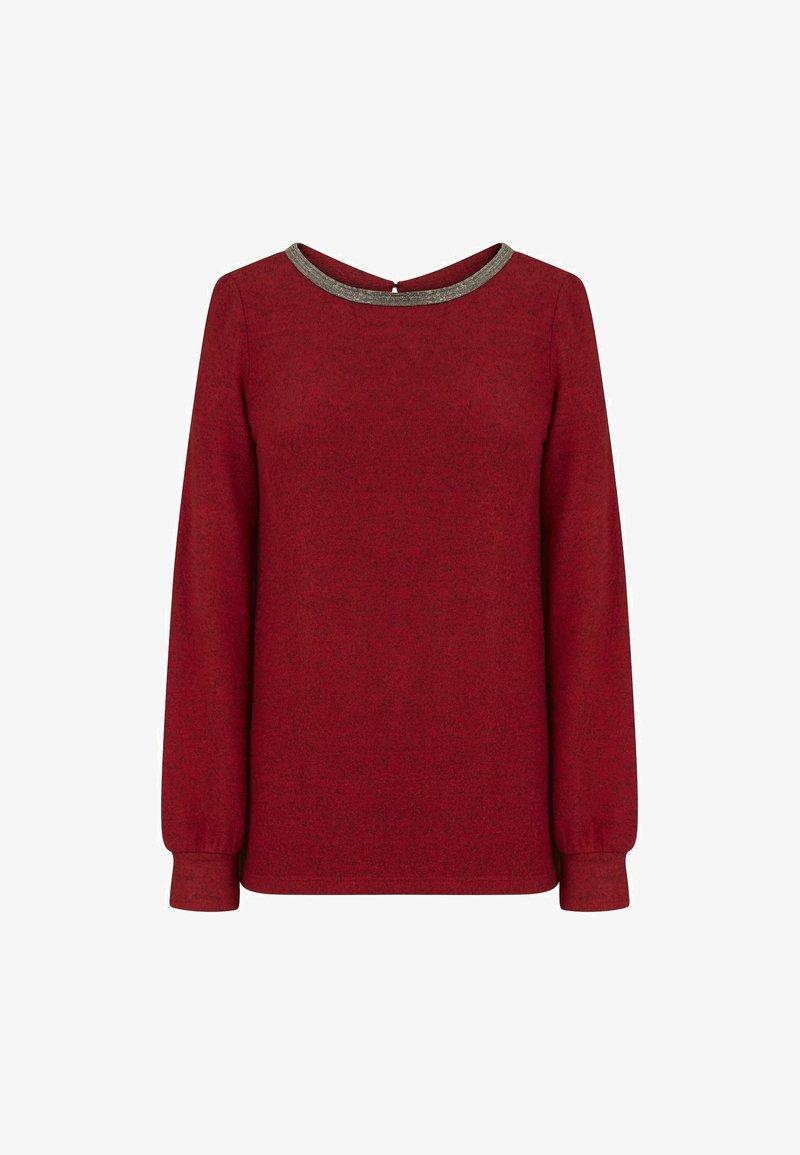 NAF NAF - Long sleeved top - red