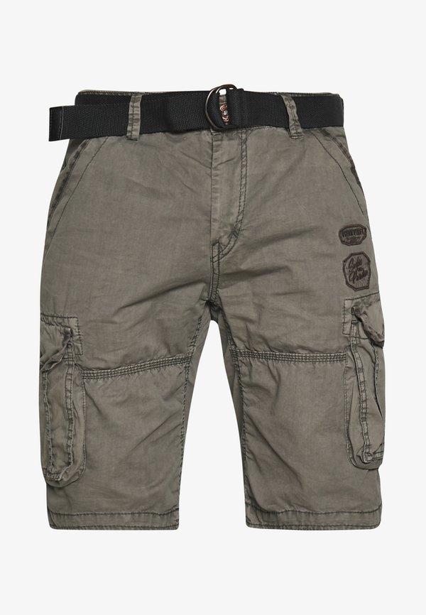 Cars Jeans DURRAS - Szorty - antra/ciemnoszary Odzież Męska YMPB