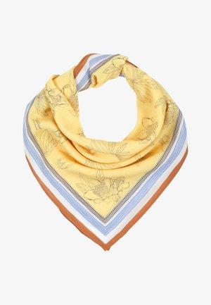 Tørklæde / Halstørklæder - straw yellow