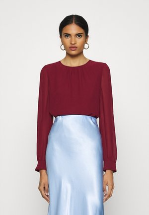 VMIRIS DOUBLE LAYER - Blouse - cabernet