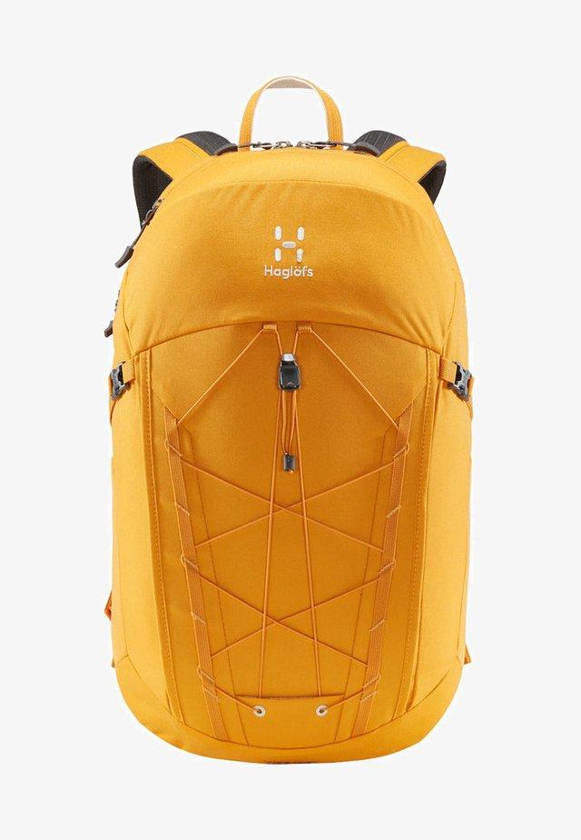 HAGLÖFS WANDERRUCKSACK VIDE LARGE - Hiking rucksack - desert yellow
