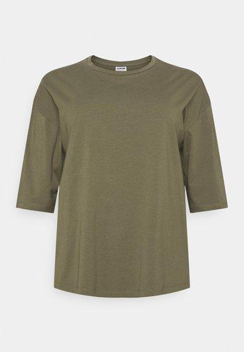 NMHAILEY - Basic T-shirt - kalamata