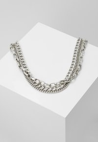 Weekday - MAURA CHAIN NECKLACE - Necklace - silver-coloured - 0