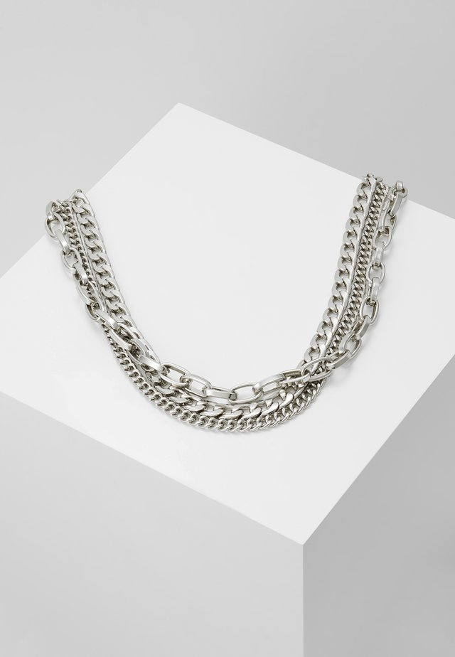 MAURA CHAIN NECKLACE - Collier - silver-coloured