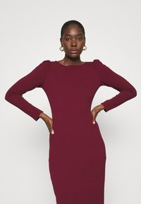 Dorothy Perkins - RUCHED SLEEVE BODYCON DRESS - Shift dress - purple - 3