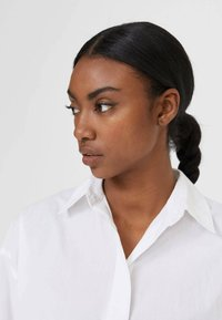 Stradivarius - Button-down blouse - white - 3