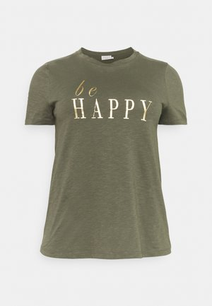 BILLA - Print T-shirt - grape leaf