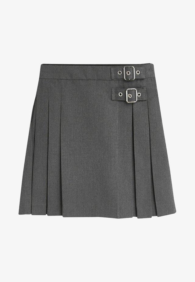 KILT - Falda plisada - grey