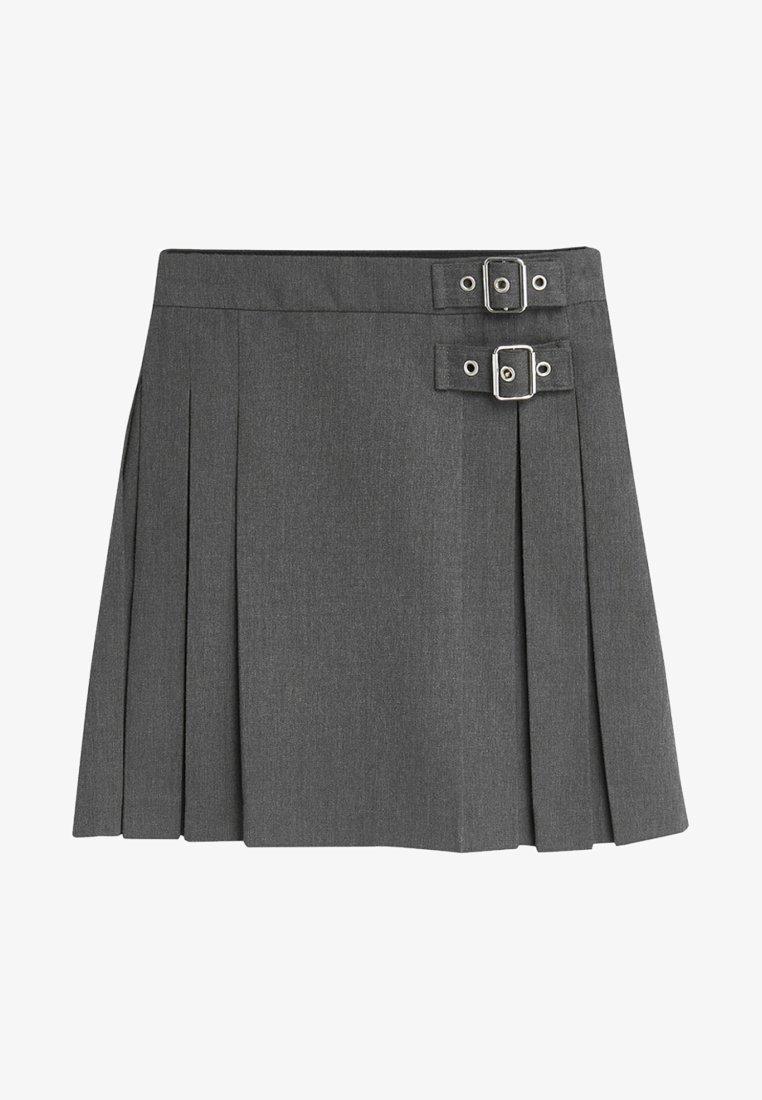 Next - KILT - Pleated skirt - grey