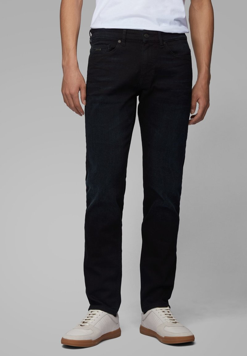 BOSS - Straight leg jeans - dark blue