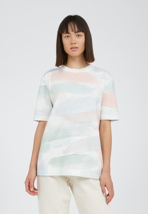 TARAA COLOR STROKES - Print T-shirt - off white