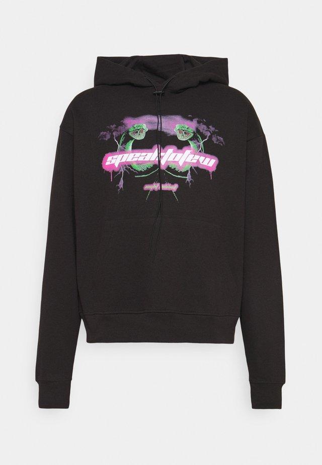 SPEAK TO FEW - Sweatshirt - black