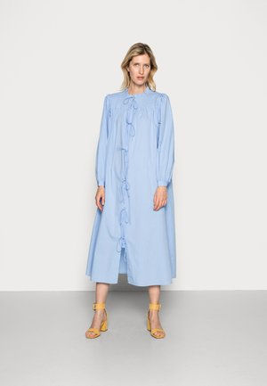 GRADY DRESS - Košilové šaty - dove