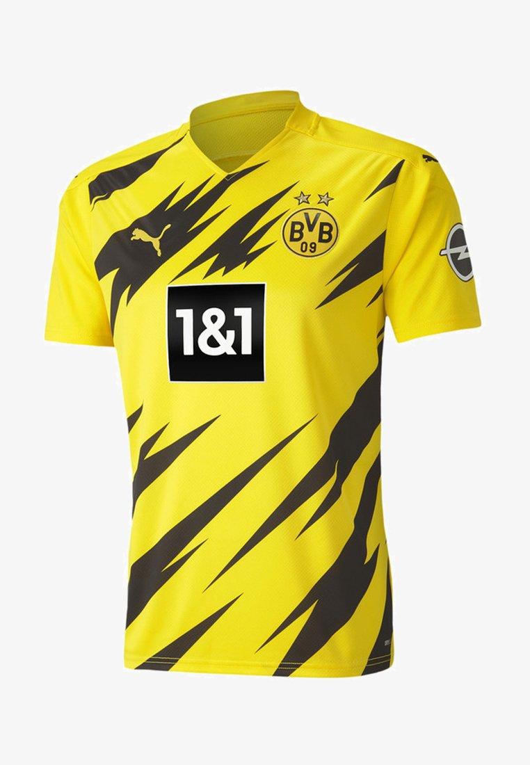 Puma - Klubtrøjer - cyber yellow-puma black