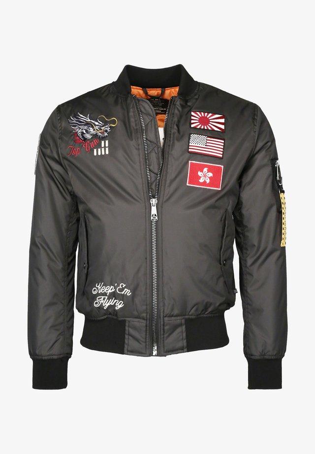 Bomber Jacket - anthracite