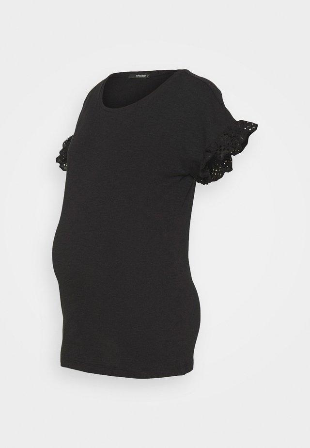 TEE - Jednoduché triko - black