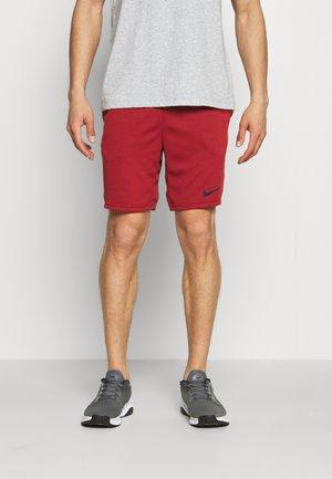SHORT TRAIN - Sports shorts - dark cayenne/solar flare/black