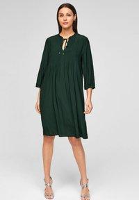 s.Oliver BLACK LABEL - Day dress - leaf green - 1
