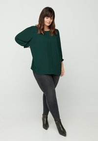 Zizzi - Blouse - dark green - 0