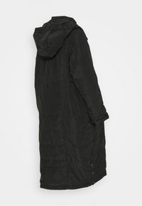 JoJo Maman Bébé - 2 IN 1 LONGLINE PUFFER - Winter coat - black - 1