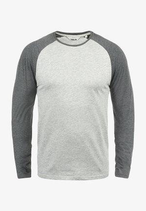 T-shirt à manches longues - light grey melange