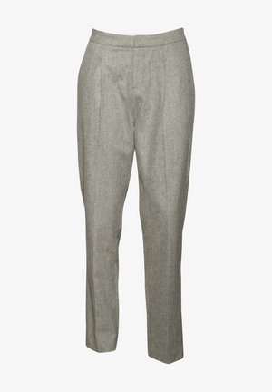 Trousers - gris chine