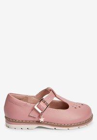 Next - STAR CHARM - Ankle strap ballet pumps - pink - 3