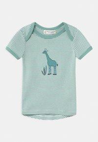 Sense Organics - TILLY BABY  - Print T-shirt - light teal - 0