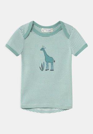 TILLY BABY  - Print T-shirt - light teal