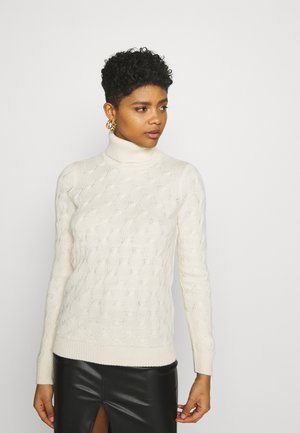 VMWAVES ROLLNECK  - Jumper - birch