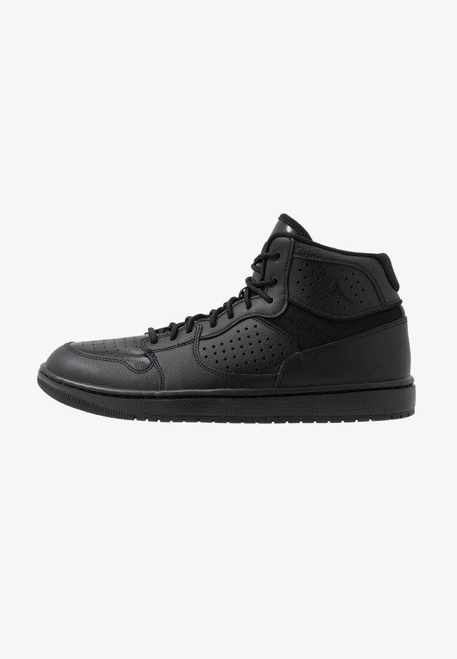 JORDAN ACCESS HERRENSCHUH - Höga sneakers - black