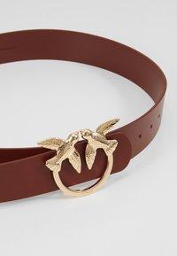 Pinko - BERRI SIMPLY BELT - Belte - dark brown - 4