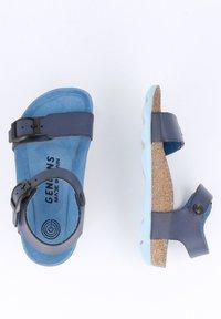 Genuins - PRATO VACHETTA - Sandals - navy - 1