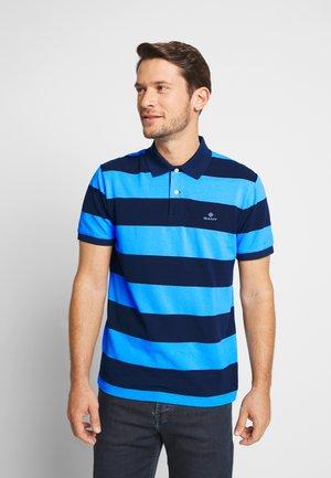 BARSTRIPE RUGGER - Polo shirt - toy blue