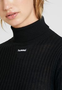 Hummel Hive - CITA  - Strikpullover /Striktrøjer - black - 5