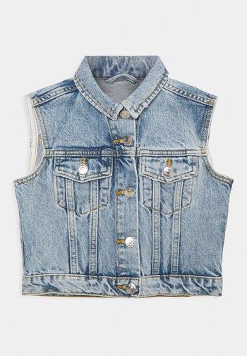 MINI 90S VEST - Waistcoat - mid blue