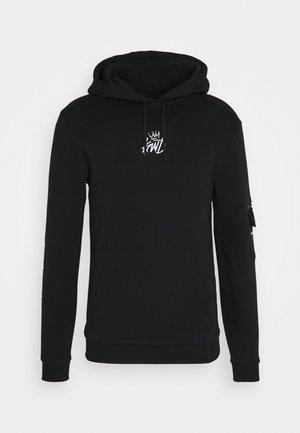 CARSO HOODIE - Sweater - black
